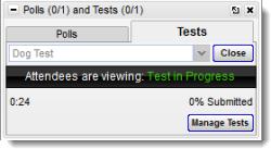 Starten eines GoToTraining-Tests