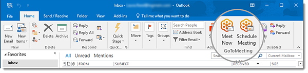 GoToMeeting for Microsoft Outlook