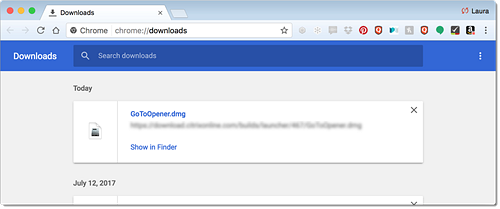Installation Troubleshooting for Google Chrome (Mac)