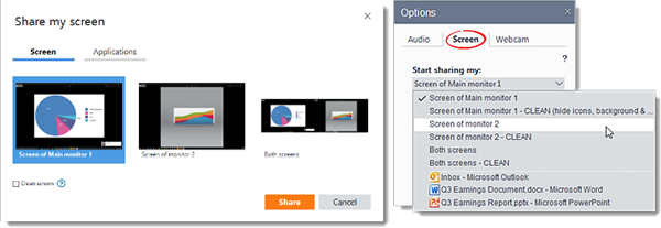 Share Your Screen (Windows)