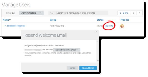 Erneutes Senden von Begrüßungs-E-Mails