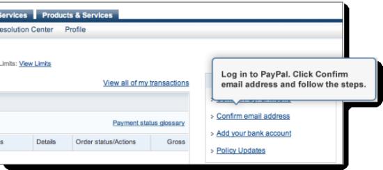 Verifizieren Paypal