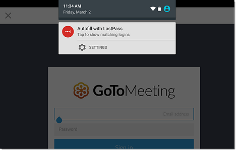 lastpass enterprise unlock user