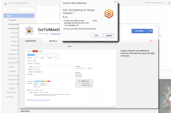 Install the Google Chrome Plug-In for GoToMeeting