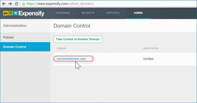 2nd select domain