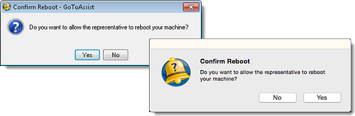 Reboot and Reconnect