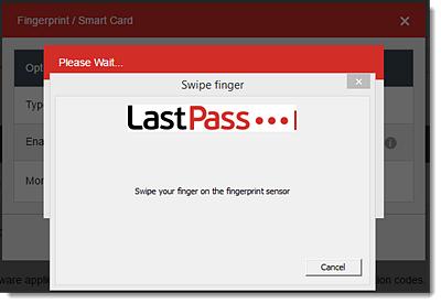 Use Windows Fingerprint Authentication