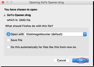 how to open dmg files in macbook pro