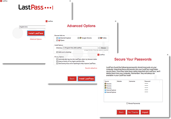 LastPass pour Applications