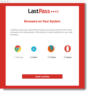Install LastPass Software Using the Admin Console