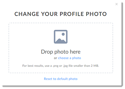 Choose a Profile Photo
