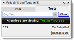Launch a GoToTraining Test