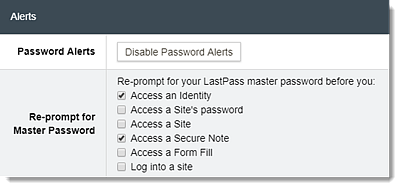 Manage Your Secure Notes