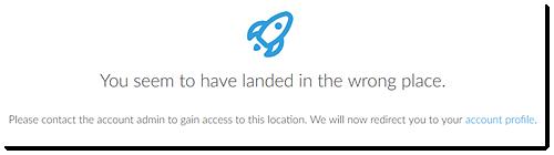 Sem acesso ao Centro de Cobrança