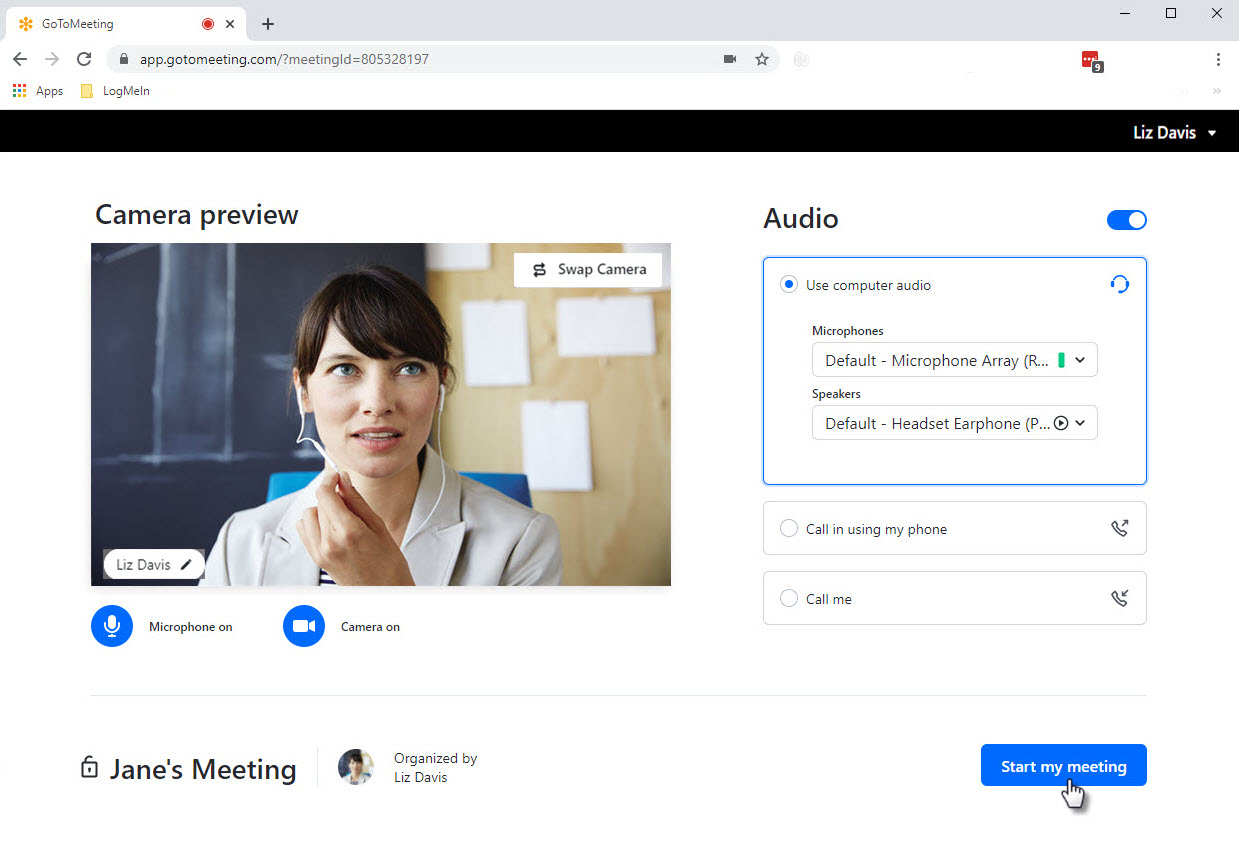 Start Your Meeting