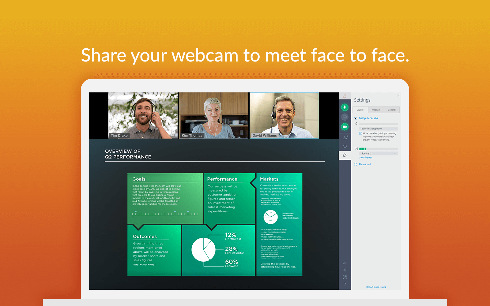 GoToMeeting Slack Webcam