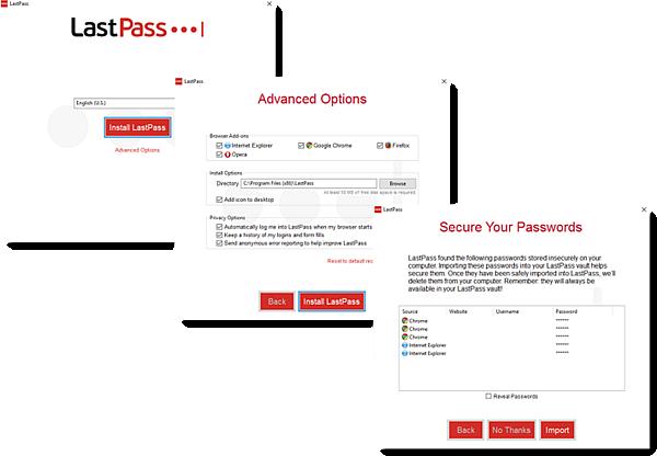 LastPass für Anwendungen