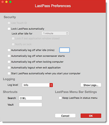 Use the LastPass Mac App