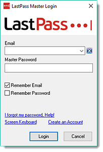 Use LastPass for Applications