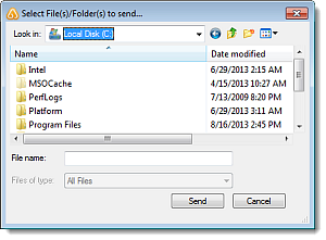 Use File Transfer