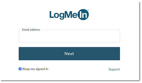 Enter your email address and password to sign in