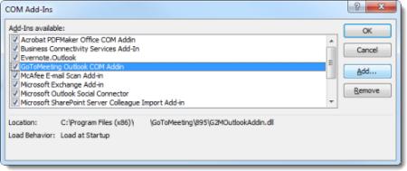 Prerequisites for Outlook Windows installs