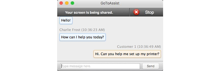 Official GoToAssist Remote Support Customer Guide for Mac