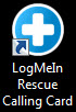 Calling Card, Standard Desktop Icon
