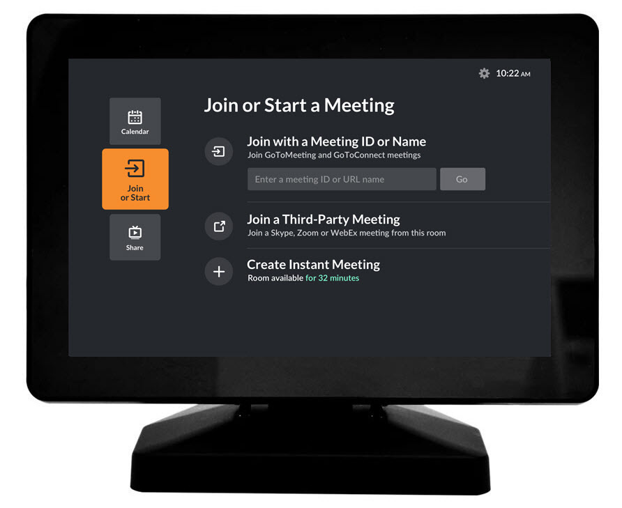 Join a Meeting from GoToRoom with Poly