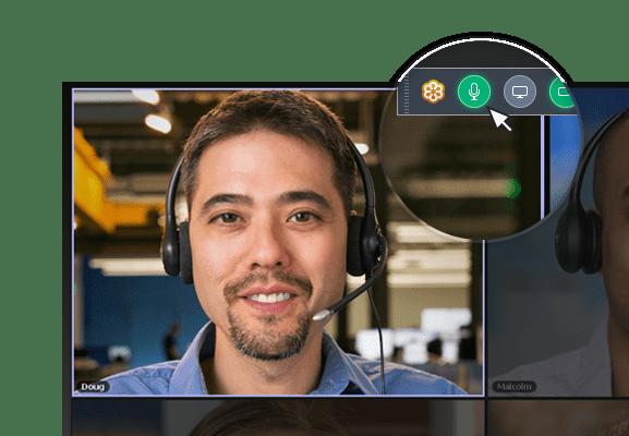 GoToMeeting Audio Mute