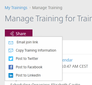 Share Training