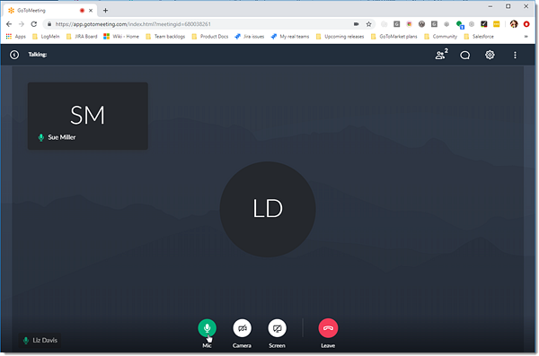 Connect to Audio (Web App)