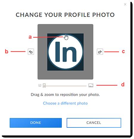 Repositionner votre photo