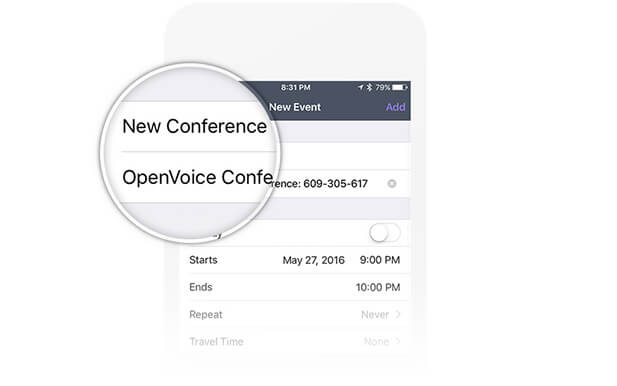 Schedule Conference Calls