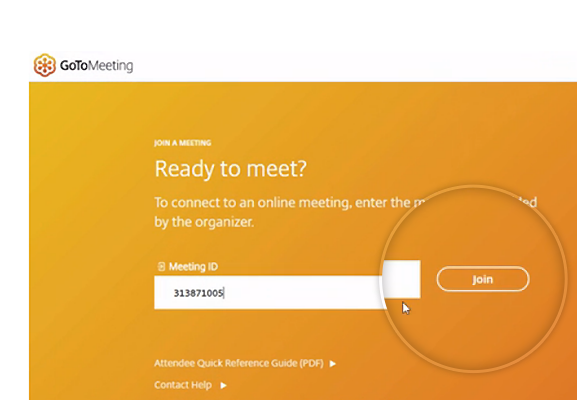 GoToMeeting Join Instantly