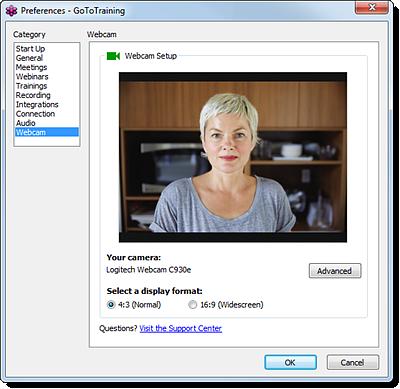 Webcam sharing site