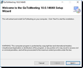 Install via MSI (Windows)